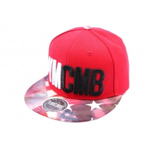 Snapback Rouge YMCMB