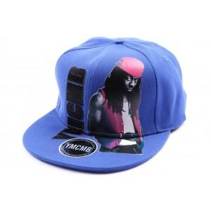 Snapback YMCMB bleu