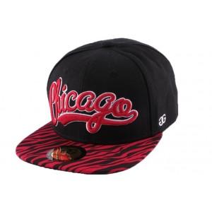 Snapback Coke Boys Chicago visi̬re z̬bre Rouge