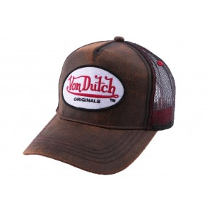 Casquette Baseball Marron Von Dutch OG