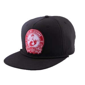 Strapback Goorin bros Life of leisure Noire