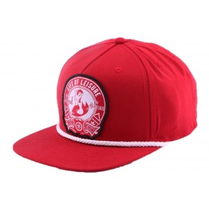 Strapback Goorin bros Life of leisure Rouge