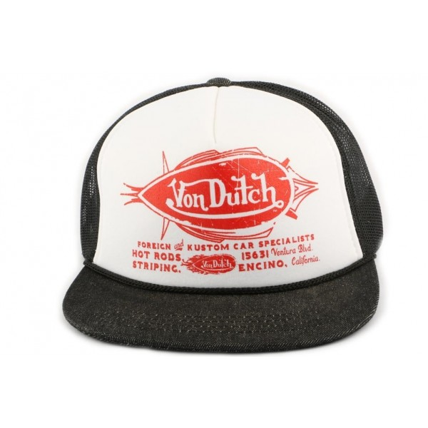 311d7d6a Casquette Trucker Von Dutch Foreign and Kustom - OBOCLIC