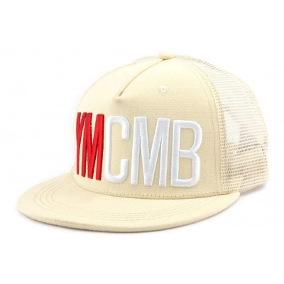 c1fed965 Casquette Trucker YMCMB Beige - OBOCLIC