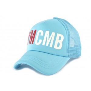 Casquette baseball Bleu YMCMB