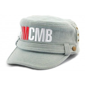 Casquette Army YMCMB Jeans Gris
