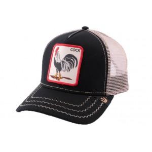 Casquette Trucker Goorin Bros Rooster Noire