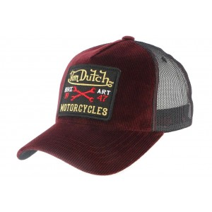 Casquette Baseball Von Dutch Bordeaux Mark
