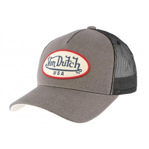 Casquette Baseball Von Dutch Grise