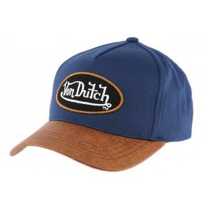 Casquette Baseball Chuck Bleu Von Dutch