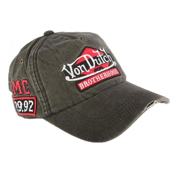 0df18acd386de Casquette baseball von dutch jack grise oboclic jpg 600x600 Von dutch  baseball caps