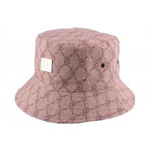 Chapeau Bob marron par JBB Couture