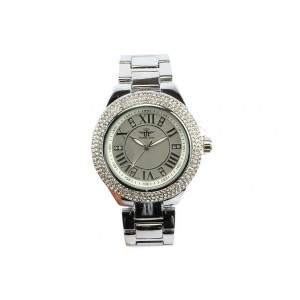 Montre Femme strass Argent Luxia