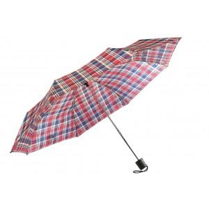 Parapluie Pliant bleu et rouge