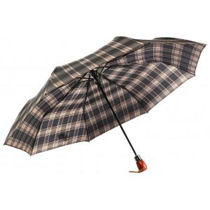 Parapluie Automatique Marron et Noir Classique