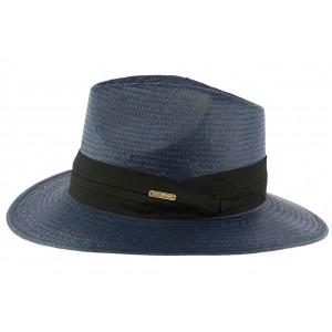 Chapeau de Paille Bleu Marine Théo
