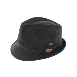 Chapeau Trilby Noir Kairan