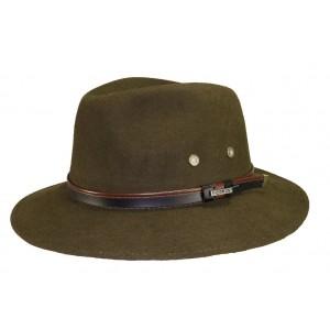 Chapeau feutre Maccarthy Kaki