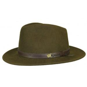 Chapeau feutre Vert Kaki Rob Herman