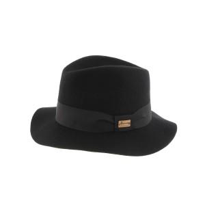 Chapeau Fedora Noir Mou Maxwell Herman