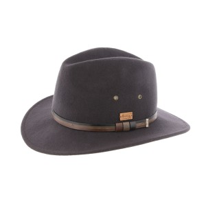 Chapeau feutre Anthracite Mac Carthy Herman