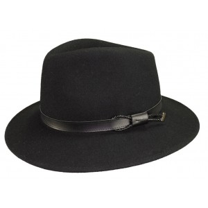 Chapeau feutre Mackinsley Noir