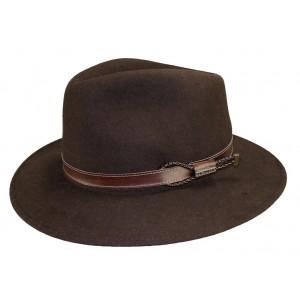 Chapeau feutre Mackinsley marron