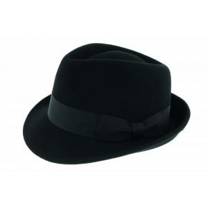 Chapeau Feutre Noir Sir Aldo