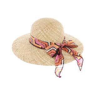 Chapeau paille naturel capeline Clara par Herman Headwear