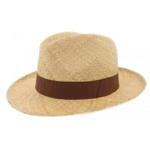 Chapeau de paille Clapton marron