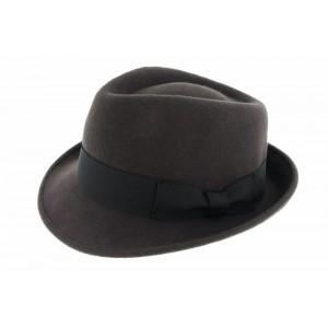 Chapeau Feutre Herman headwear Sir Aldo Marron