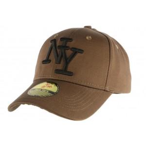 Casquette Baseball Vert avec logo NY