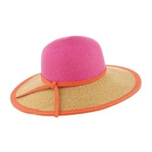 Chapeau de paille Rose Clara par Herman Headwear