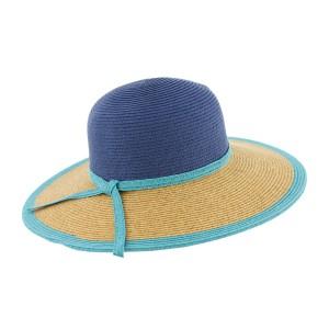 Chapeau paille Marine Clara par Herman Headwear