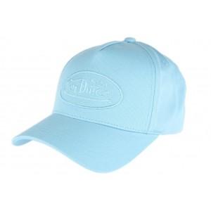 Casquette baseball Bleu Ciel Von Dutch