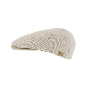 Casquette Plate Beige Boxer par Herman Headwear