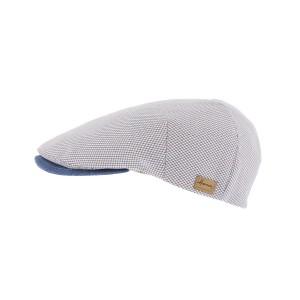 Casquette plate Bleu Boxer par Herman headwear