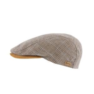 Casquette Plate Beige Discovery par Herman headwear