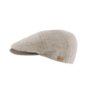 Casquette plate naturelle Dispatch par Herman headwear