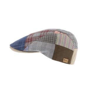 Casquette plate Patchwork Range par Herman headwear