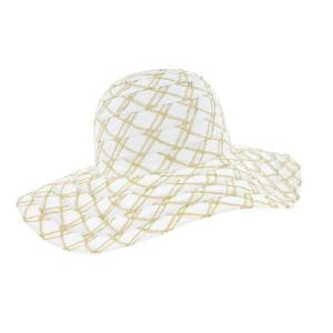 Chapeau paille été femme Blanc Herman headwear