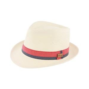 Chapeau paille Beige Bensons Herman Headwear