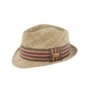 Chapeau paille rouge Don Quince