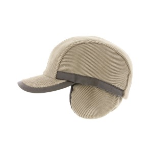 Casquette Velours Beige Colwood