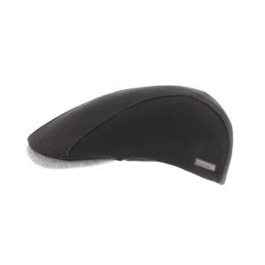 Casquette plate Noire Range Sweat
