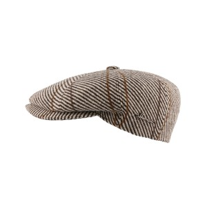 Casquette Plate Marron Advancer