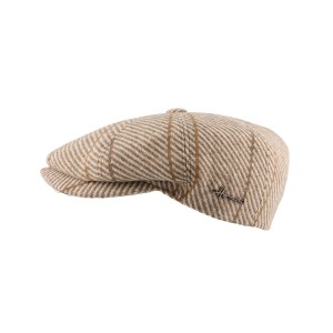 Casquette plate Beige Advancer