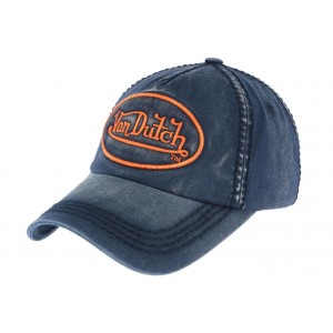 Casquette Baseball Marine Tim Von Dutch
