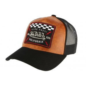 Casquette Baseball Marron GRL Von Dutch