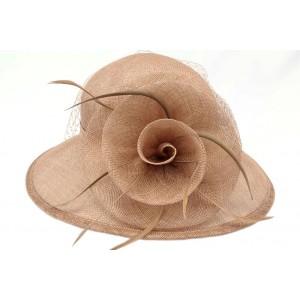 Chapeau Mariage Taupe Astra
